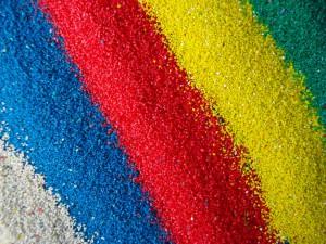 Покрасить щебень в домашних условиях